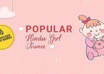 Latest Hindu Baby Girl Names