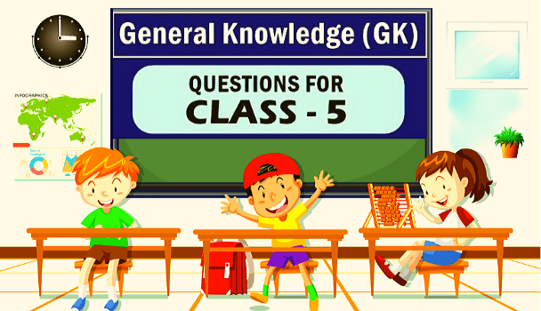 GK Questions for Class 4 & 5 Kids